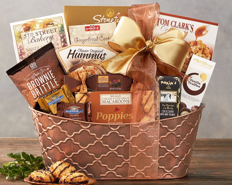 The Gourmet Choice Gift Basket by Wine Country Gift Baskets - Bizzy Lizzy
