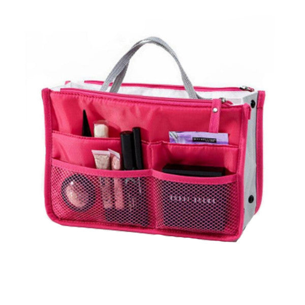 Slim Bag-in-Bag Purse Organizer - Assorted Colors Available - Bizzy Lizzy