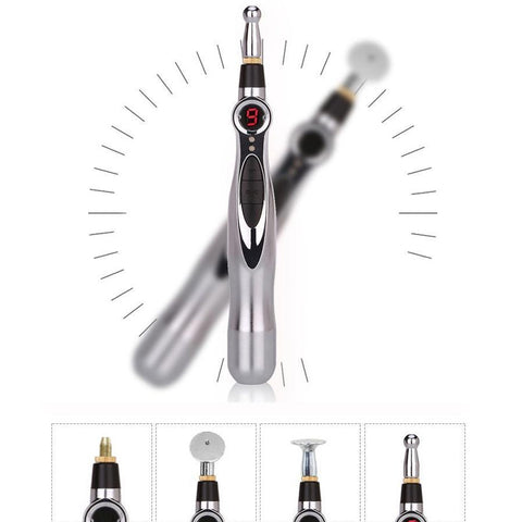 Electronic Laser Acupuncture Pen - Bizzy Lizzy