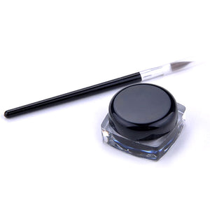 Creamy Gel Eyeliner With Brush - Bizzy Lizzy