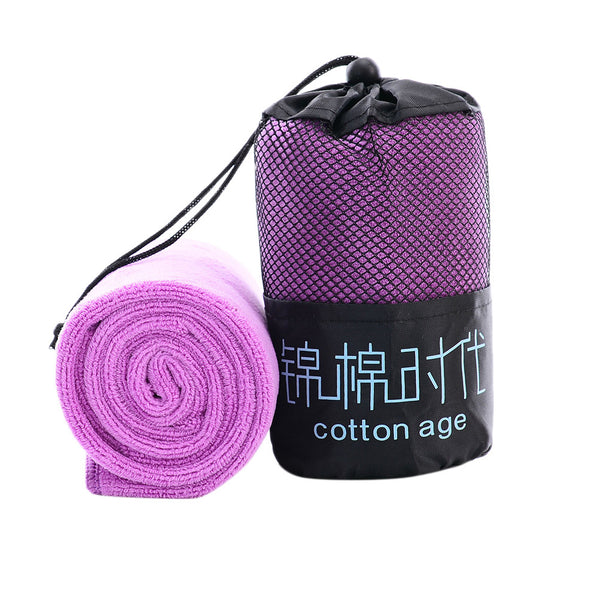 Microfiber Sports Cooling Towel - Quick Dry for Running Camping Hiking Yoga Gym - 5 Colors - Bizzy Lizzy