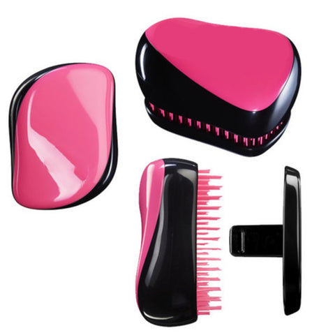 Mini On The Go Compact Hair Styling Brush - 3 Colors Available - Bizzy Lizzy