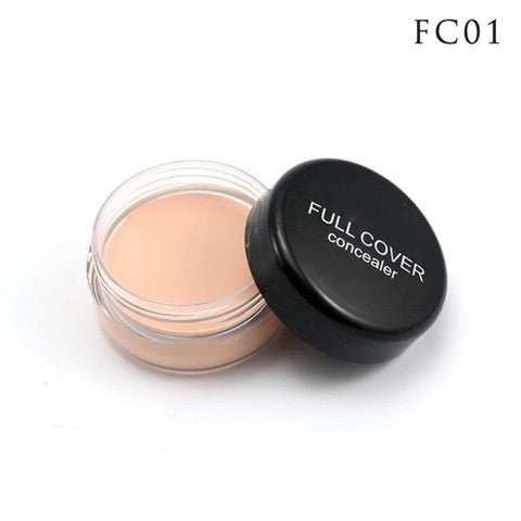 Fashion Makeup Full Cover Concealer Cream - 5 Shades