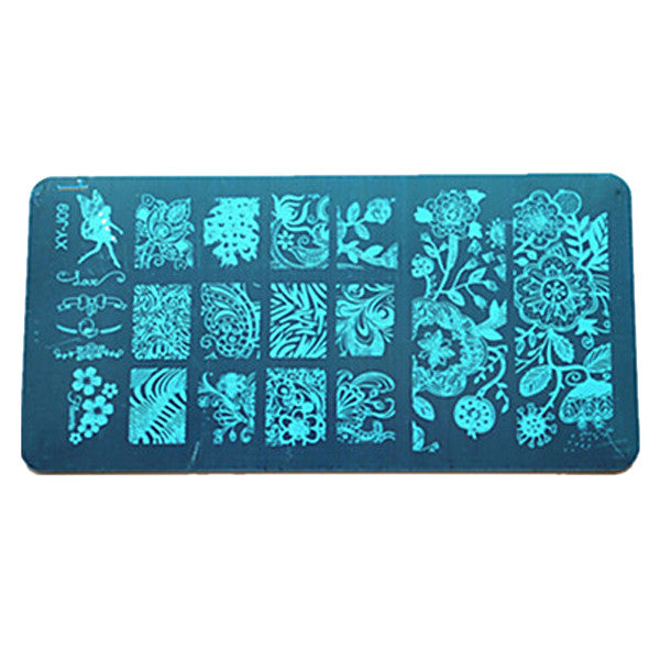 Fashion Nail Art Stamp Plate - Bizzy Lizzy