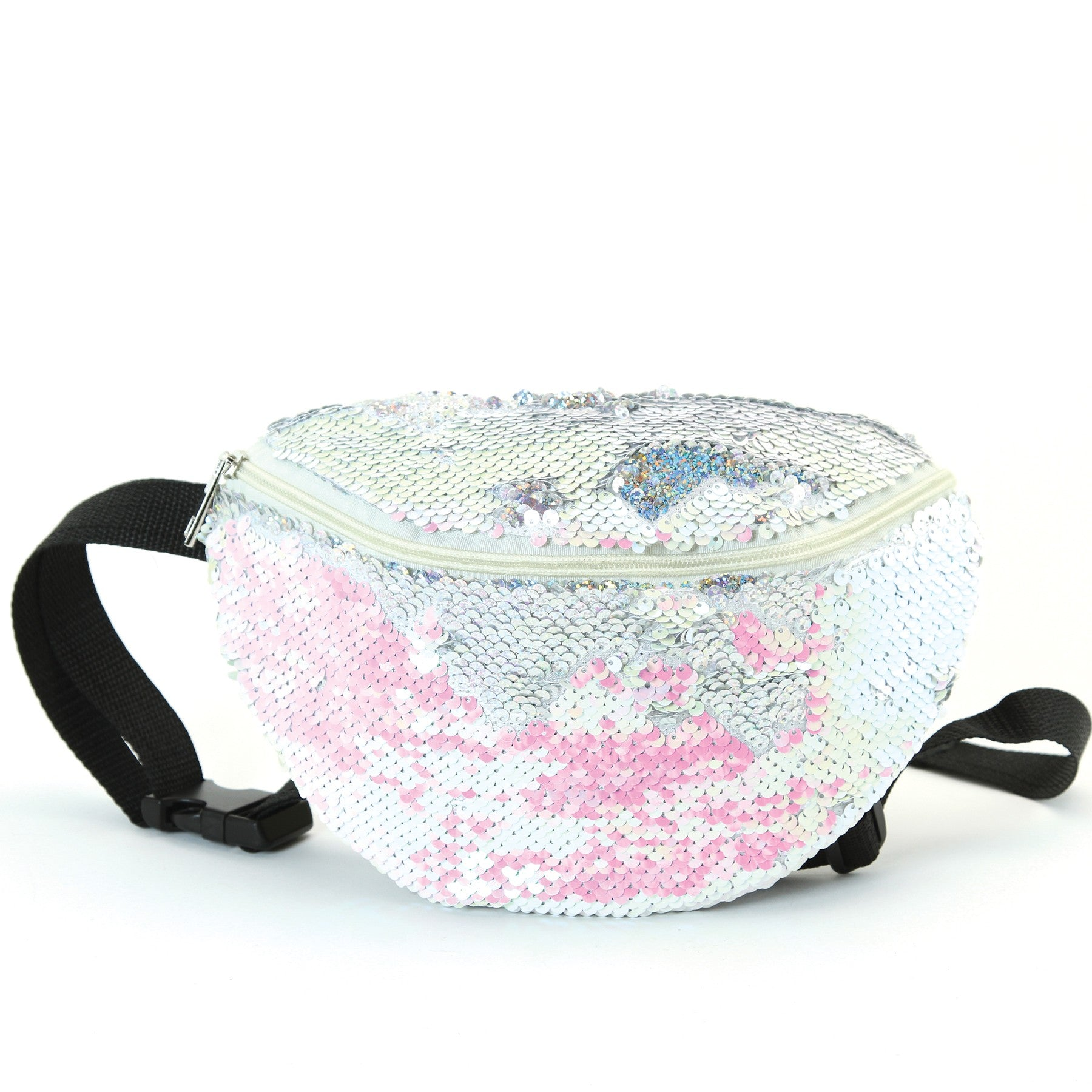 Fashionable Sequinned Fanny Packs in Mermaid Style - Bizzy Lizzy