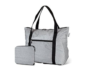 cFold Expandable Everyday Travel Bag - 10 Colors, Designs Available - Water Resistant - Bizzy Lizzy