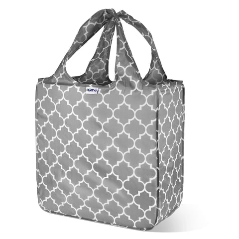 "Macro Tote Reusable Bag - 17"" x 17"" x 8"" - Water Resistant - 7 Colors/ Designs Available - Bizzy Lizzy"