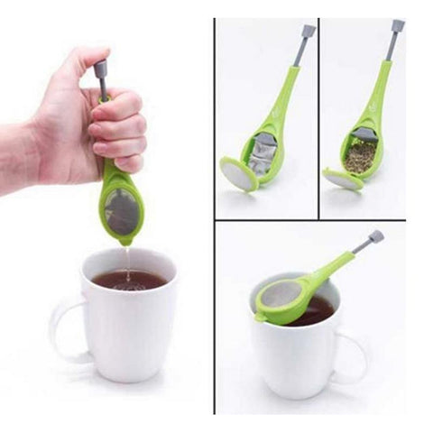 Tea Infuser With Built-in Plunger