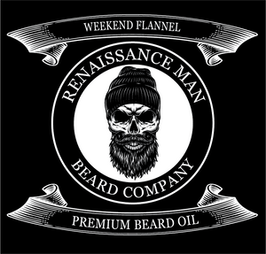 Weekend Flannel Beard Oil - 1 oz. Dropper Bottle - 0001