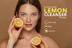 Homemade Lemon Cleanser for Natural Beauty & Skin Care