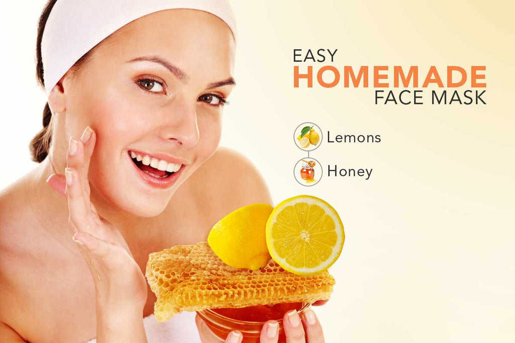 Easy Homemade Face Mask - Lemon & Honey
