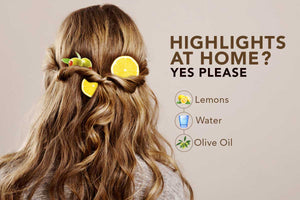 Lemony Natural Highlights For Your Hair