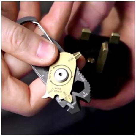 20 in 1 Pocket Multi Tool Keychain