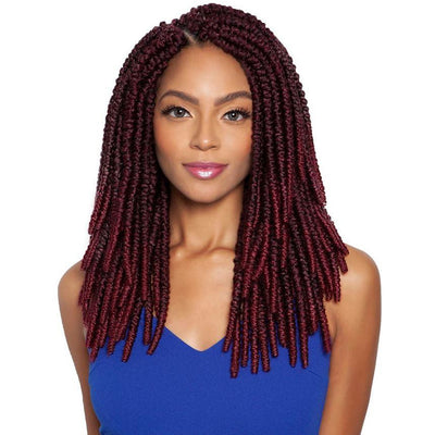 Mane Concept Afri-Naptural Synthetic Crochet Braids - TWB212 2X Spring Passion Twist 12""