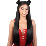 Motown Tress Synthetic Zig-Zag 4 Way Part Let's Lace Wig - LZ.Vixen28