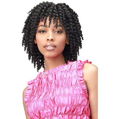 Bobbi Boss Synthetic Crochet Braids - 2X Brazilian Skinny Twist Out 6""