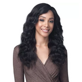 "Bobbi Boss 100% Unprocessed Virgin Remy Human Hair 13"" X 4"" Bundle Hair Lace Frontal Wig - MHLF529 Brigette"