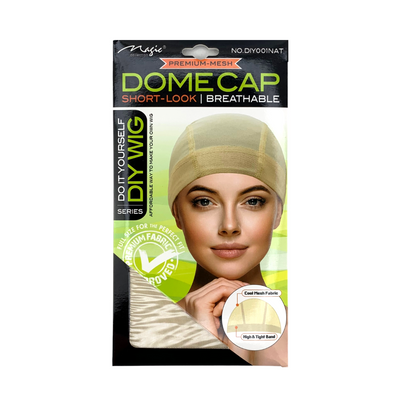 Magic Dome Style Mesh Wig Cap #DIY001NAT
