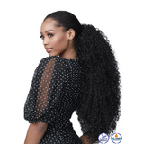 Bobbi Boss Synthetic Speedy Up-Do Drawstring Ponytail - Natural Jerry Curl
