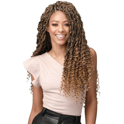 Bobbi Boss Synthetic Crochet Braids - 3X Bohemian Box Braid 20""