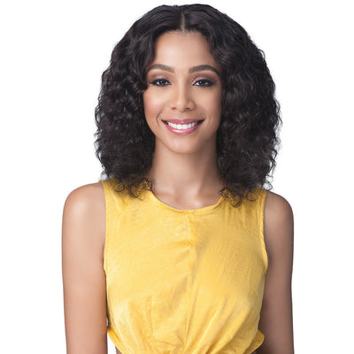 Bobbi Boss 100% Unprocessed Brazilian Virgin Remy Bundle Hair Full Lace Wig - BNGLWNC16 Natural Curl 16""