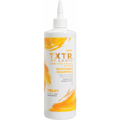 TXTR By Cantu Apple Cider Vinegar + Tea Tree Soothing Shampoo 16 OZ