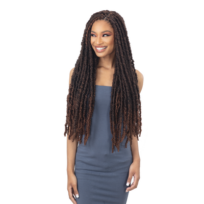 Freetress Synthetic Crochet Braids - 2X Indie Distressed Loc 26""