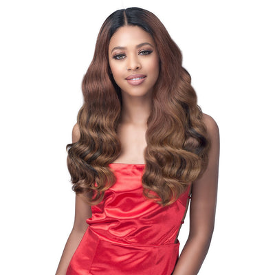 "Bobbi Boss Synthetic Lace 4.5"" Deep Part Lace Front Wig - MLF561 Amanda"