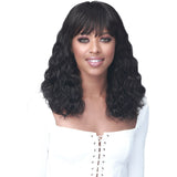 Bobbi Boss Soft Bang Series 100% Human Hair Wig- MH1292 Lavone