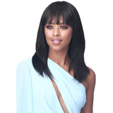 Bobbi Boss Soft Bang Series 100% Human Hair Wig - MH1291 Alva