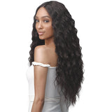 Bobbi Boss Synthetic Deep Part Lace Front Wig -  MLF463 Olive