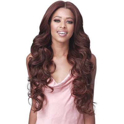 "Bobbi Boss Synthetic HD Transparent 4.5"" Deep Part Lace Front Wig - MLF377 Cordelia"