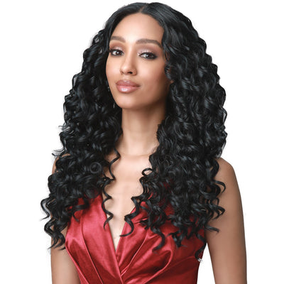 "Bobbi Boss Synthetic 5"" Deep Lace Part Lace Front Wig - MLF464 Brielle"