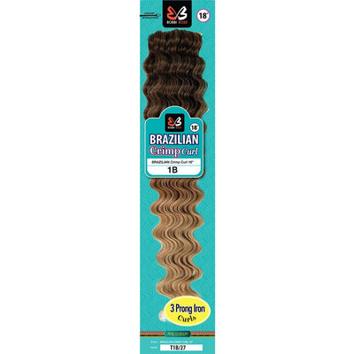 Bobbi Boss Synthetic Crochet Braids - Brazilian Crimp Curl 18""