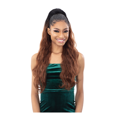 Shake-N-Go Synthetic Organique Ponytail - Body Wave 28""