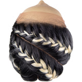 Mane Concept Red Carpet Premiere Ghana Braid Synthetic Lace Front Wig – RCBG02 Athena 28""