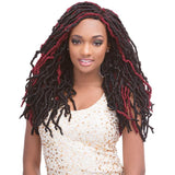 Janet Collection Synthetic Crochet Braids - 2X Mambo Natural Born Locs 18""