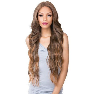 It's A Wig! Natural Hairline Synthetic Frontal S Lace Wig – Dara