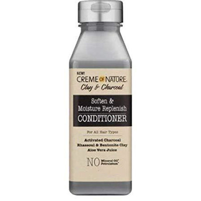 Creme Of Nature Clay & Charcoal Soften & Moisture Replenish Conditioner