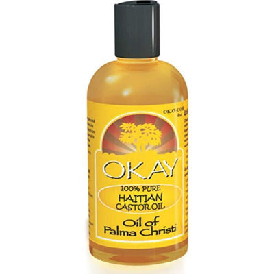 OKAY 100% Pure Haitian Castor Oil 4 oz