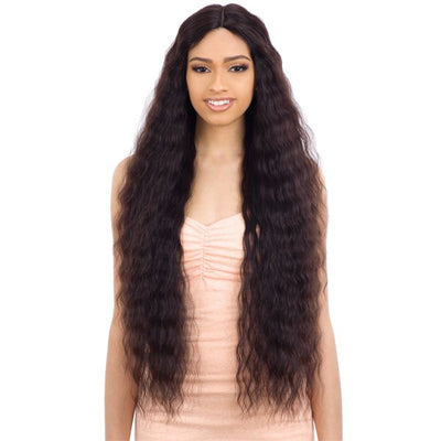 Shake-N-Go Naked Brazilian Natural 100% Human Hair Lace Part Wig - Natural 705
