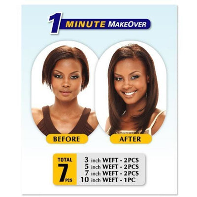 MilkyWay Clip-In Extensions – 7 Pieces 14""