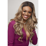 Janet Collection Synthetic Extended Part Lace Front Wig - Vivia