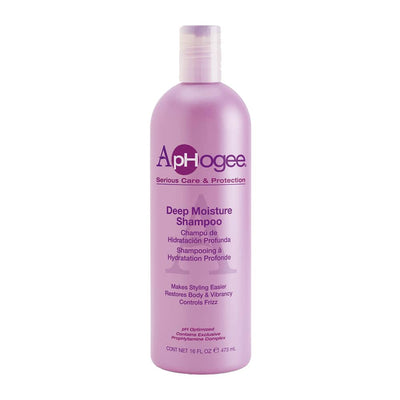 ApHogee Serious Care & Protection Deep Moisture Shampoo 16 OZ