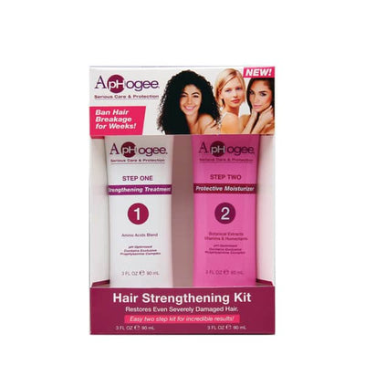 ApHogee Serious Care & Protection Hair Strengthening Kit 3 OZ