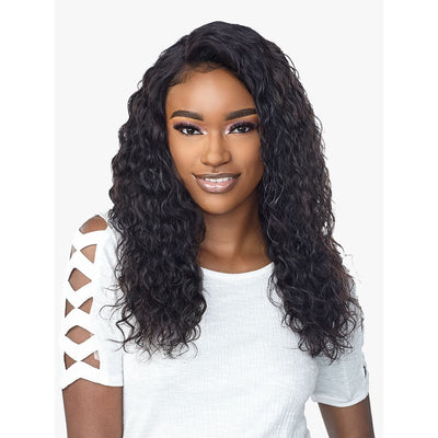 Sensationnel 10A Unprocessed Virgin Human Hair 360° Lace Front Wig - Deep Curly 22""