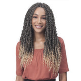 Bobbi Boss Synthetic Crochet Braids - 2X Spring Twist 18""