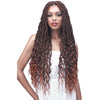 Bobbi Boss Synthetic Crochet Braids - 2X Wavy Nu Locs 28""