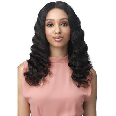 "Bobbi Boss 100% Unprocessed Human Hair 13""x5"" HD Lace Front Wig - MHLF612 Elaine"