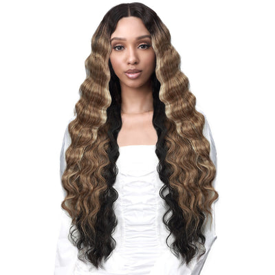 "Bobbi Boss Synthetic 5"" Deep Lace Part Lace Front Wig - MLF432 Patrice"